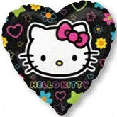 "18"" Hello Kitty Tween Heart Foil Balloon"