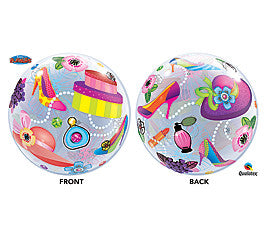 "22"" Shopping Spree Bubble Balloon - nyea's Party Store"