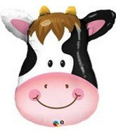 "32"" Contented Cow Shape Balloon - Nyea's Party Store"