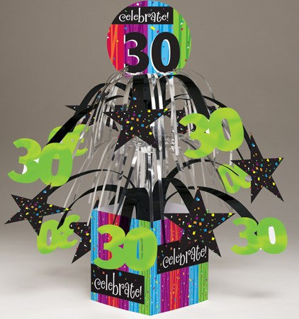 "Milestone ""30"" Tabletop Centerpiece - nyea's Party Store"