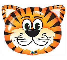 30 inches Tickled Tiger Foil Balloon - Nyea's Party Store