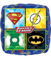 "17"" Justice League Foil Balloon"