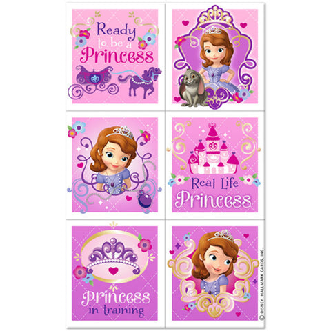 Sofia the First Stickers - nyea's Party Store