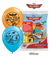 Asst Disney Planes 12in Latex Balloons