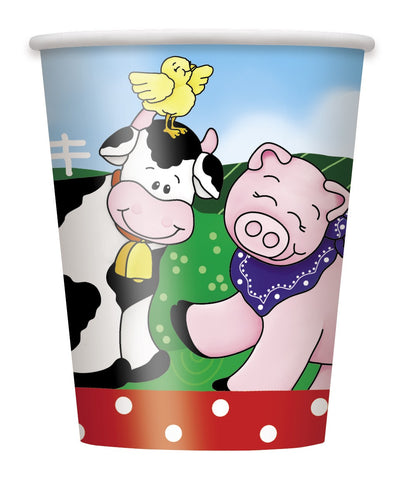 Farm Friends 9Oz Cups