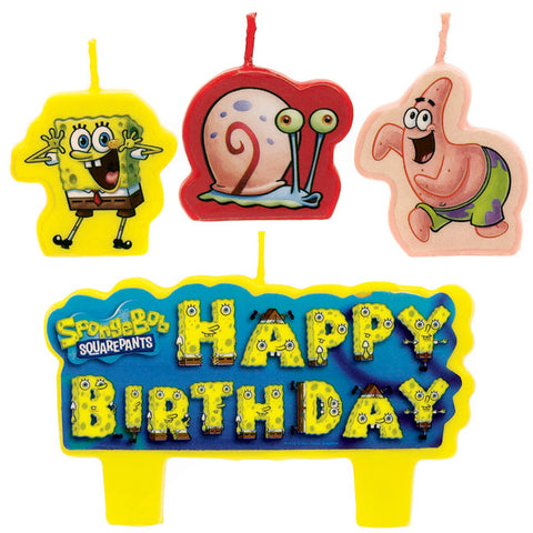 Spongebob Bday Candle - nyea's Party Store