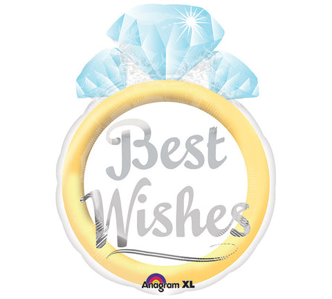 "21"" Best Wishes - Nyea's Party Store"