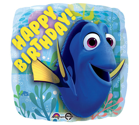 "17""PKG Happy Birthday  DORY - Nyea's Party Store"