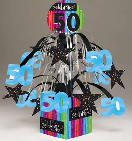 "Milestone ""50"" Tabletop Centerpiece - nyea's Party Store"