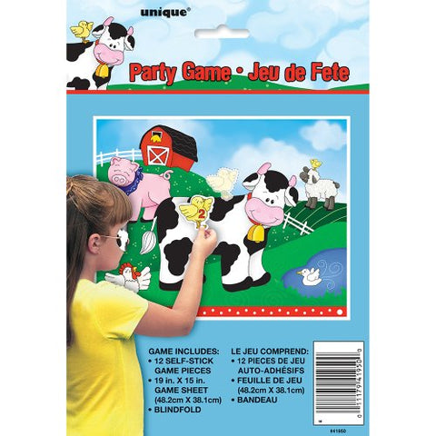 Farm Friends Party Game