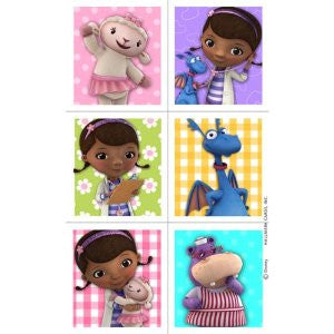 Doc McStuffins Sticker Pack - nyea's Party Store