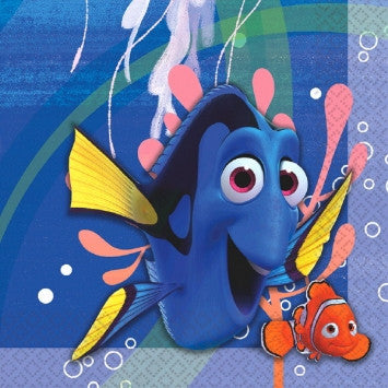 Finding Dory Lunch Napkins - nyea's Party Store