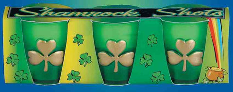 SHAMROCK SHOT GLASS SET - nyea's Party Store