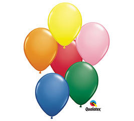 Standard Assortment Latex Balloons - nyea's Party Store