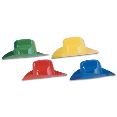 Miniature Plastic Cowboy Hats - nyea's Party Store