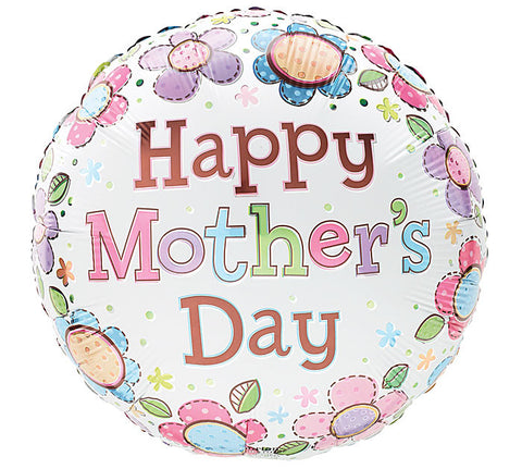 "9"" SPRING DREAMIN Happy Mother's Day Mylar Balloon - nyea's Party Store"