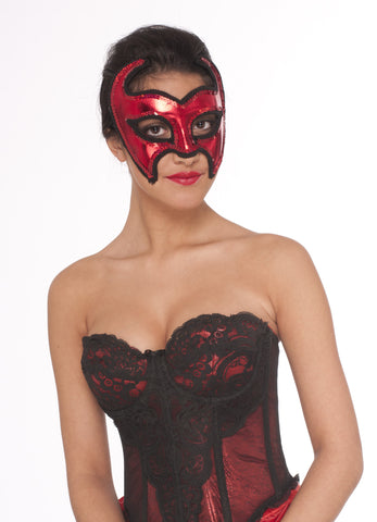 Adult Sized Demi-Masque Halloween - nyea's Party Store