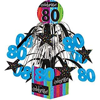 "Milestone ""80"" Tabletop Centerpiece"