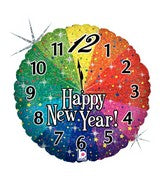"18"" Holographic Balloon New Year Countdown"