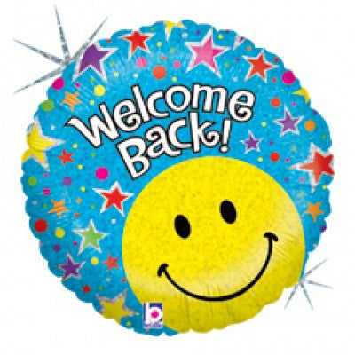 "18"" Welcome Back Balloon - Nyea's Party Store"