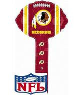 "9"" NFL Hammer Washington Redskins Balloons"