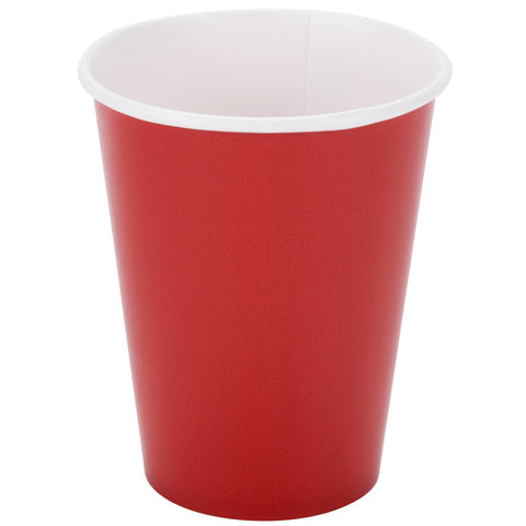 Red 9oz Paper Cups - nyea's Party Store