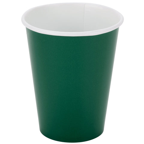 Green 9oz Paper Cups - nyea's Party Store