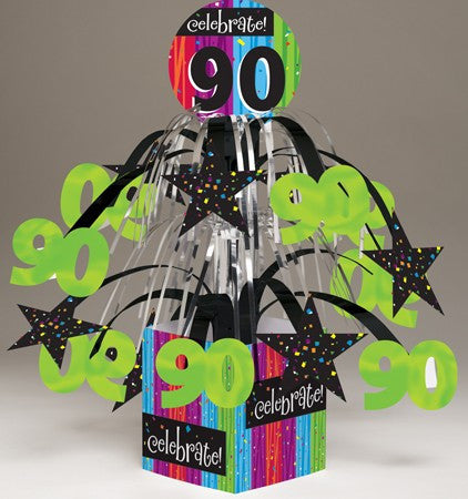 "Milestone ""90"" Tabletop Centerpiece - nyea's Party Store"