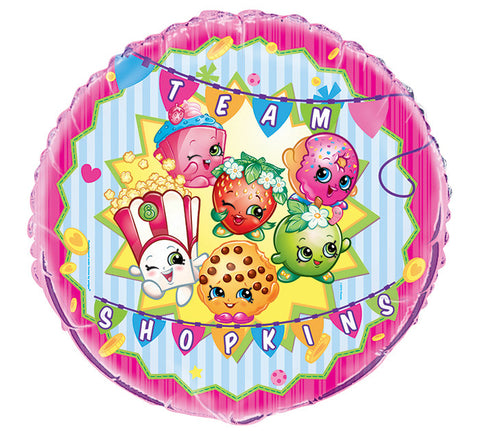"18"" Packaged Shopkins foil balloon - Nyea's Party Store"