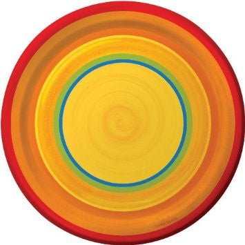 Cinco de Mayo Ablaze 9 inches Plates - nyea's Party Store