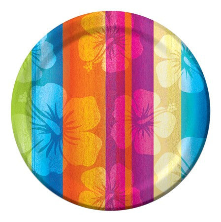 "Aloha Summer 7"" Plates - nyea's Party Store"