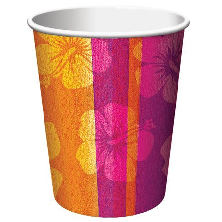 Aloha Summer 9 Oz Hot/Cold Cup - nyea's Party Store