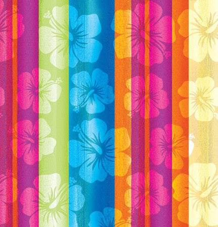 Aloha Summer Plastic 54x108 Tablecover - nyea's Party Store