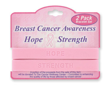 Breast Cancer Awareness Bracelet - nyea's Party Store