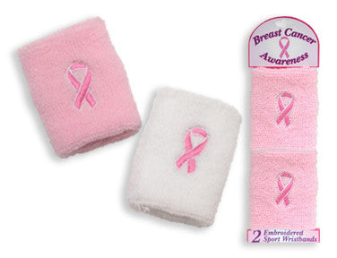 Breast Cancer Awareness Wristbands - nyea's Party Store