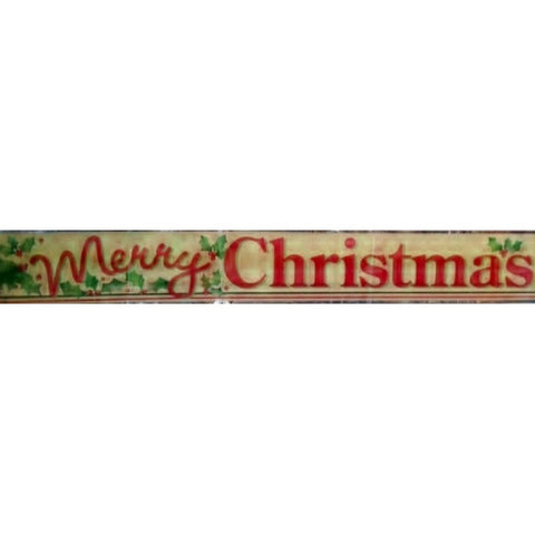 Merry Christmas Banner - nyea's Party Store