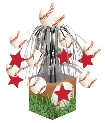 Baseball Tabletop Centerpiece - nyea's Party Store