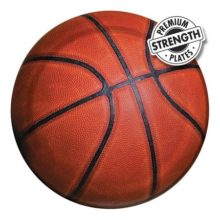 Basketball - 7 Inch Lunch Plates - nyea's Party Store
