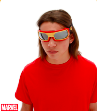 Avengers Iron Man Goggles - nyea's Party Store