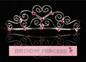 Birthday Princess Tiara - nyea's Party Store