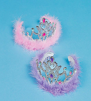 Pink Plastic Princess Tiara - nyea's Party Store