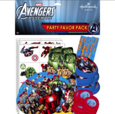Avengers Assemble Party Favor Pack - nyea's Party Store