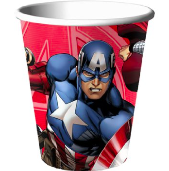 Avengers Assemble Cups - nyea's Party Store