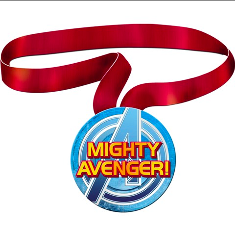 Avengers Assemble Guest of Honor Ribbon - nyea's Party Store