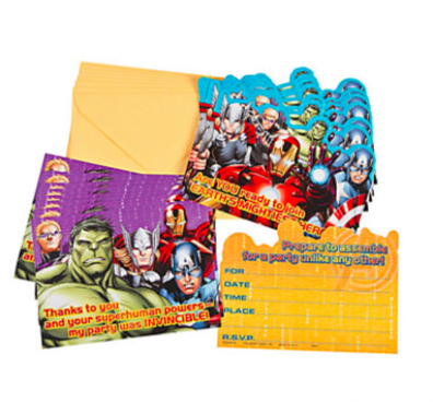 Avengers Assemble Invite-Thank You Cards - nyea's Party Store