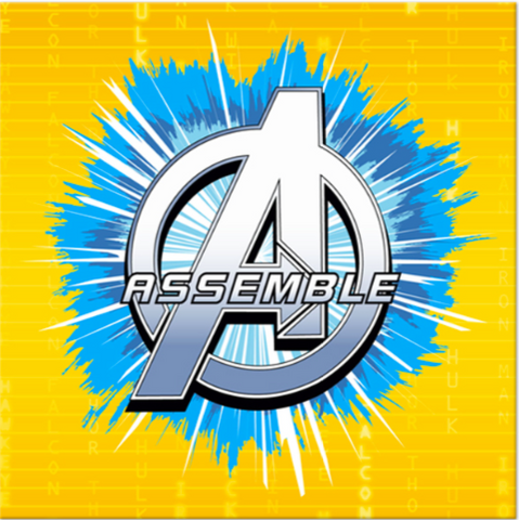 Avengers Assemble Beverage Napkins - nyea's Party Store
