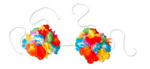 Flower Bikini Top - Adult - nyea's Party Store