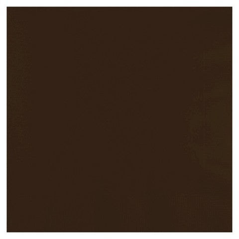 Brown 12 inches Lunch Napkins - nyea's Party Store