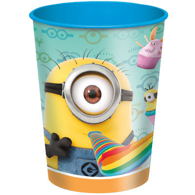 Despicable Me 2 16oz Plastic Cup - nyea's Party Store