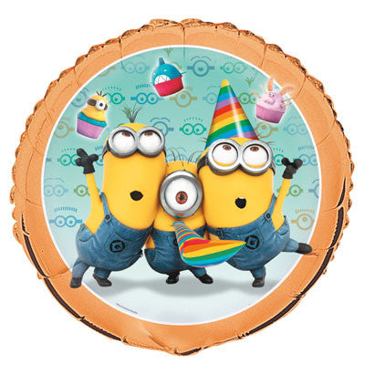 Despicable Me 2  18 in Foil Balloon - nyea's Party Store